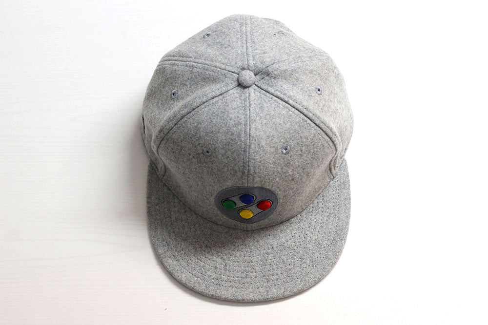 SNES SFC and NA Snapback Cap (Twin Pack) - Gamer Hats