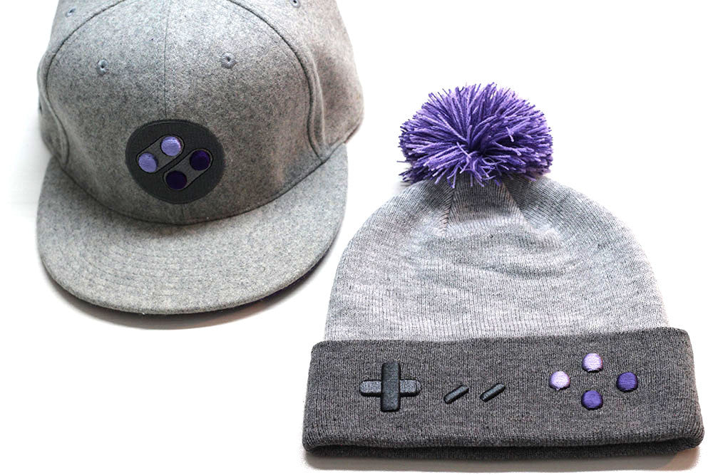 SNES NA Snapback and Beanie Pack - Gamer Hats