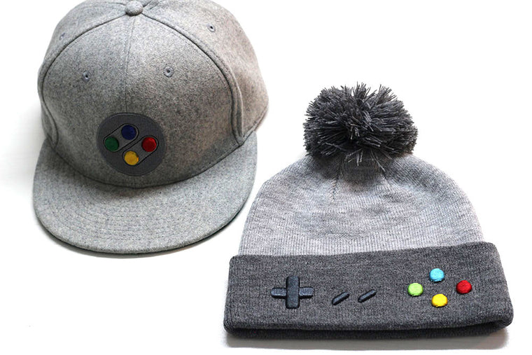 PAL/JAP Snapback and Beanie Pack - Gamer Hats