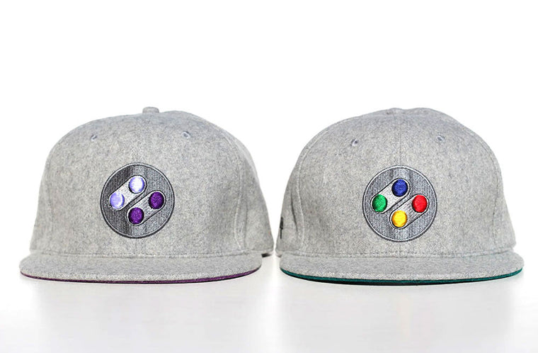 PAL/JAP and NA Snapback Cap (Twin Pack) - Gamer Hats