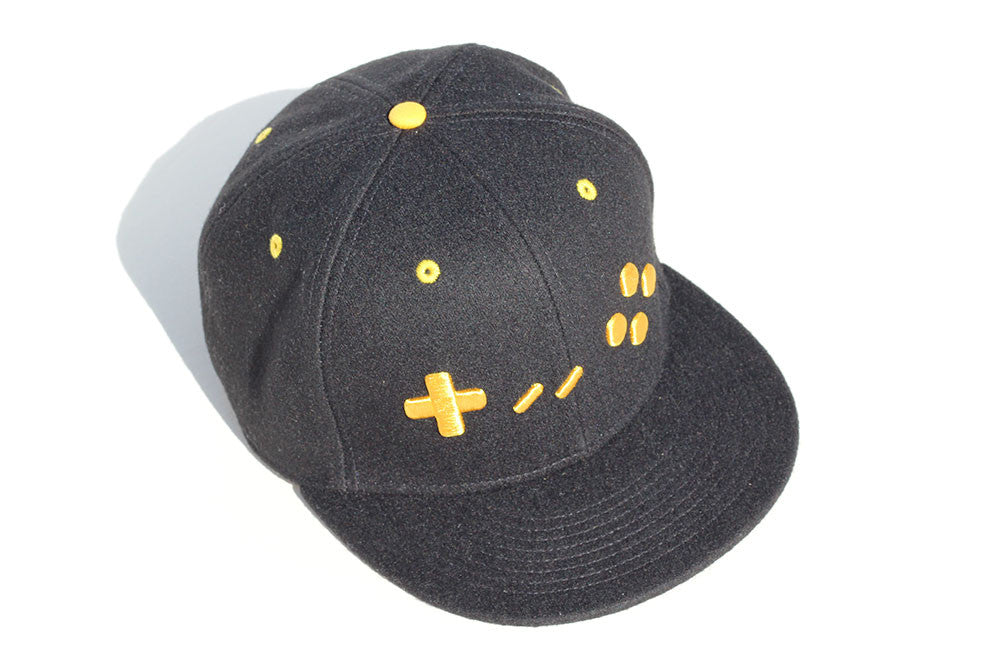 Black and Gold Edition Gamer Hats Snapback Cap - Gamer Hats