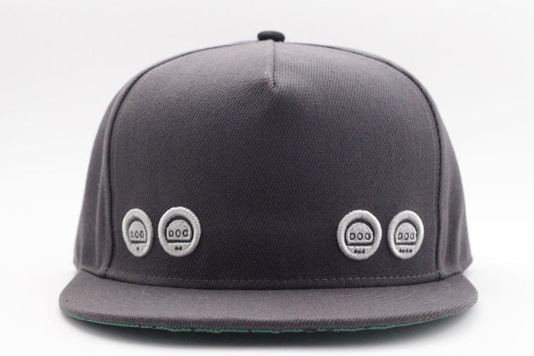 64 Snapback - Charcoal Grey - Gamer Hats