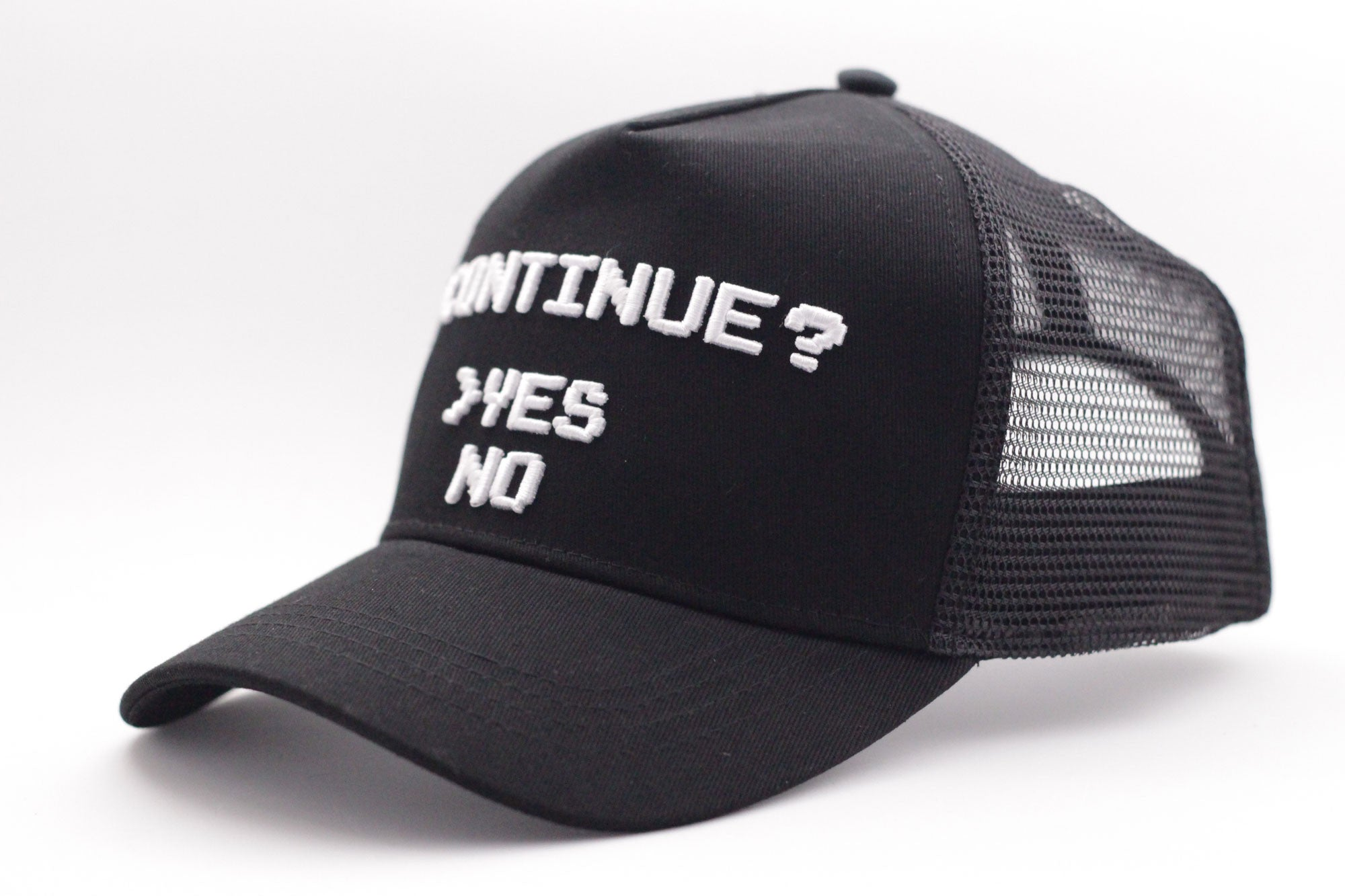 the latest nice cheap super cheap Continue Yes or No? Curved Brim Meshback Cap