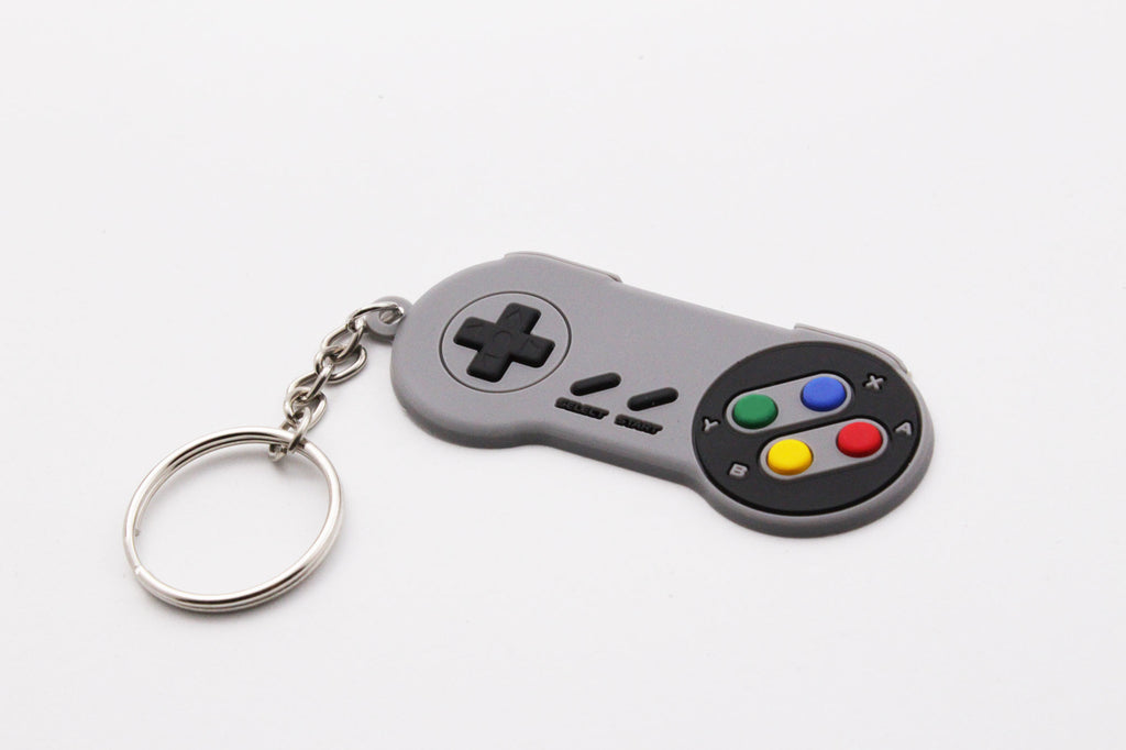 SNES SFC Control Pad Keychain - Gamer Hats