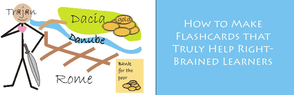 How to Make Flashcards that Truly Help Right-Brained Learners