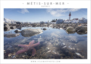 Carte postale du Phare de Métis-sur-Mer par Jc Lemay photo