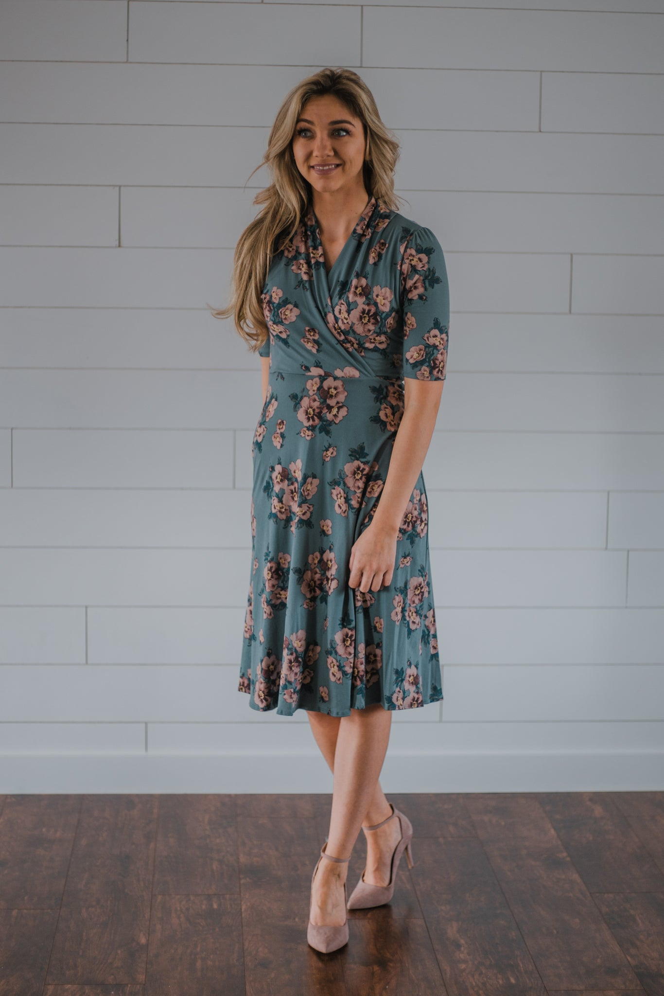 Sweet Caroline Wrap Dress