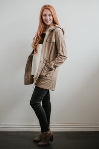 Utility Jacket in Khaki