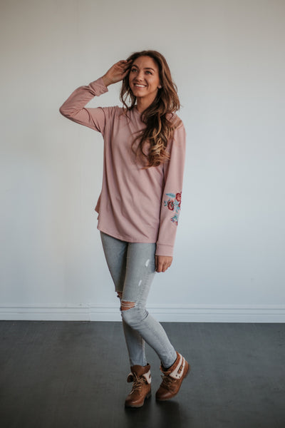 Grace Embroidered Sweater