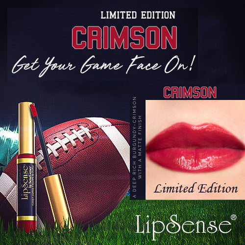 New! Limited Edition! CRIMSON Lipsense
