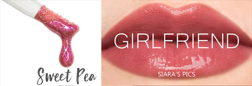 NEW! Girlfriend Lipsense! & Sweet Pea Gloss is Back!