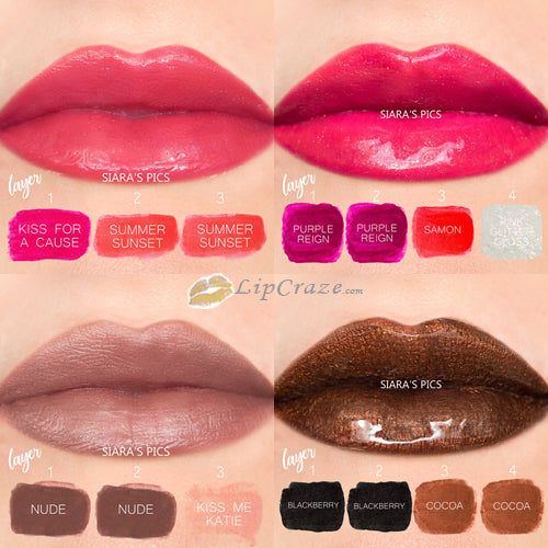 Lipsense combo mix mixes dupe recipe