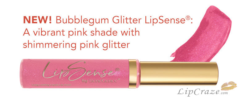 Bubblegum Glitter Lipsense by Senegence Carnival Collection