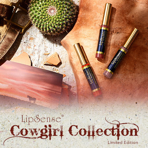 Cowgirl Collection Lipsense by Senegence Giddy up glam doll brick
