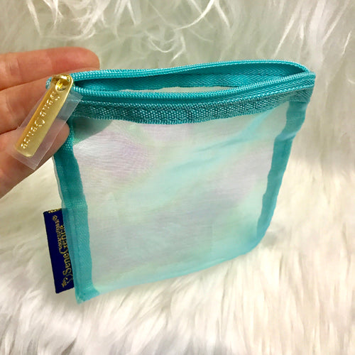 Blue Sheer Bag