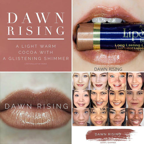 dawn rising lipsense by senegence