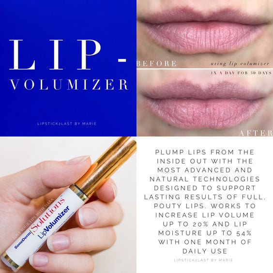 Gloss for Lipsense LIPVOLUMIZER CLEAR