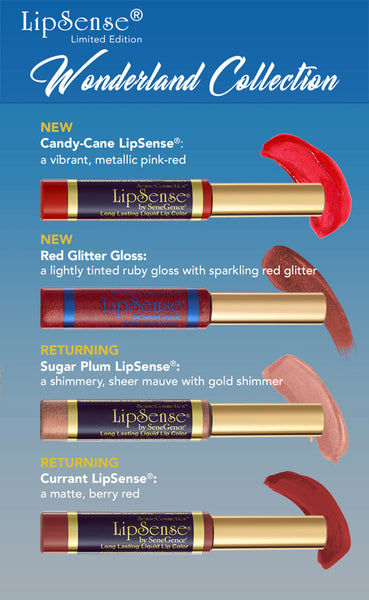 wonderland collection Lipsense by Senegence