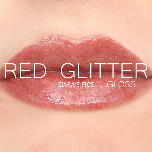 Red Glitter Gloss for Lipsense by Senegence