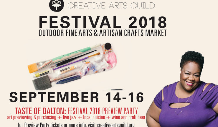 Join Me at a Creative Arts Guild Dalton Annual Arts Festival
