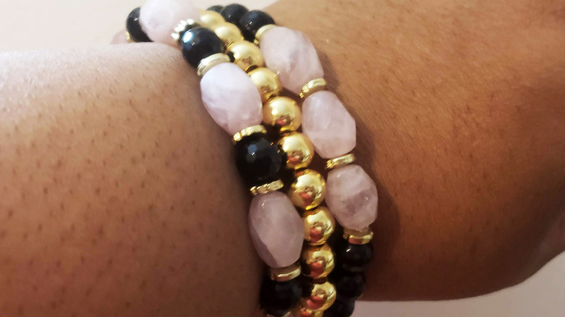 Gemstone Bracelets and Stacking Bracelets are Here