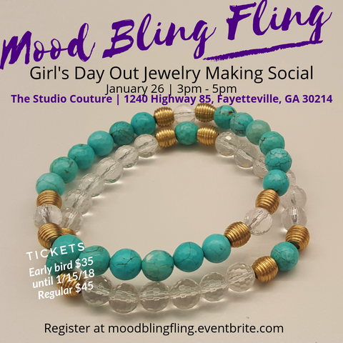 Bling Fling Jewelry making party