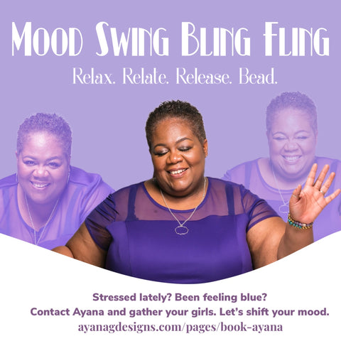 Host a Jewelry Making Party with Ayana G. Mood Swing Bling Fling