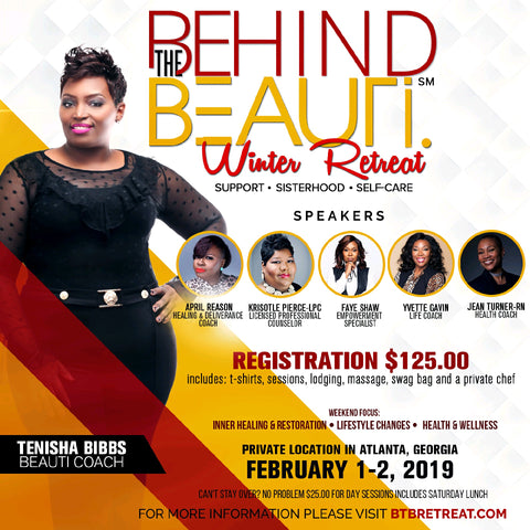 Behind the Beauti Winter Retreat