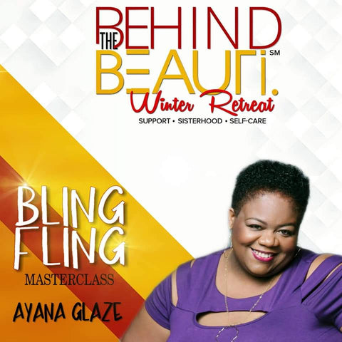Join me as I present the Bling Fling jewelry making social at the Behind the Beauty retreat