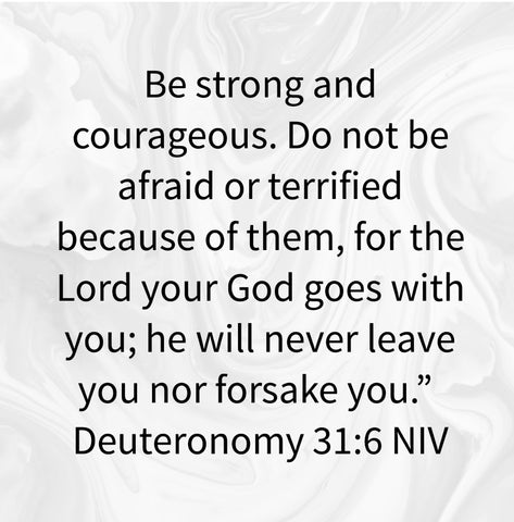 Deuteronomy 31.6 shows that God will never leave you