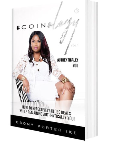 See the Custom Jewelry Design for entrepreneur and author Ebony Porter-Ike in Coinology: How to Effectively Close Deals While Remaining Authentically You