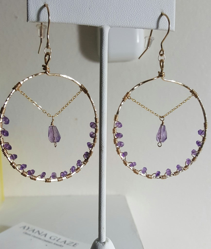 Earrings custom designed for Bo Talley