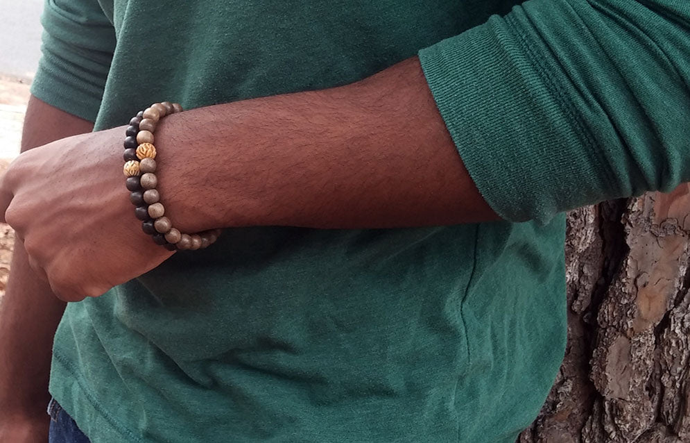 Looking for Valentines Day gift for him? Buy mens bracelets from Ayana Glaze Jewelry.