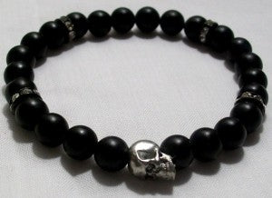 Buy skull jewelry from Ayana Glaze Jewelry