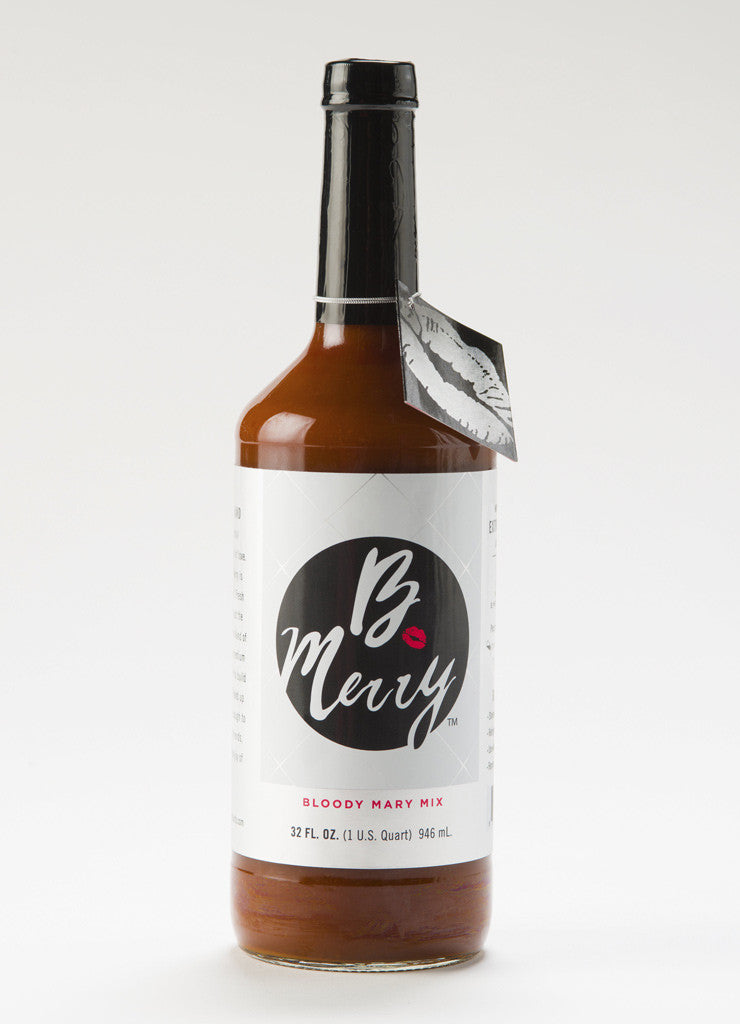 Six Bottles of B. Merry Bloody Mary Mix