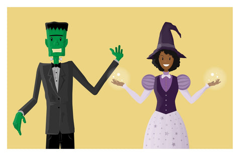 Halloween Vector Characters and Graphics - Imagibazaar