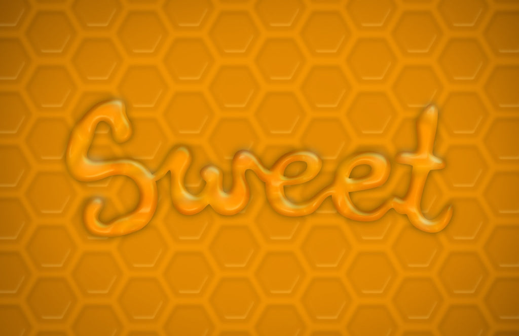 Sweet - Honey Word Art - Imagibazaar