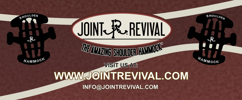 Introducing The Shoulder Hammock by Joint Revival llc: Shoulder Support