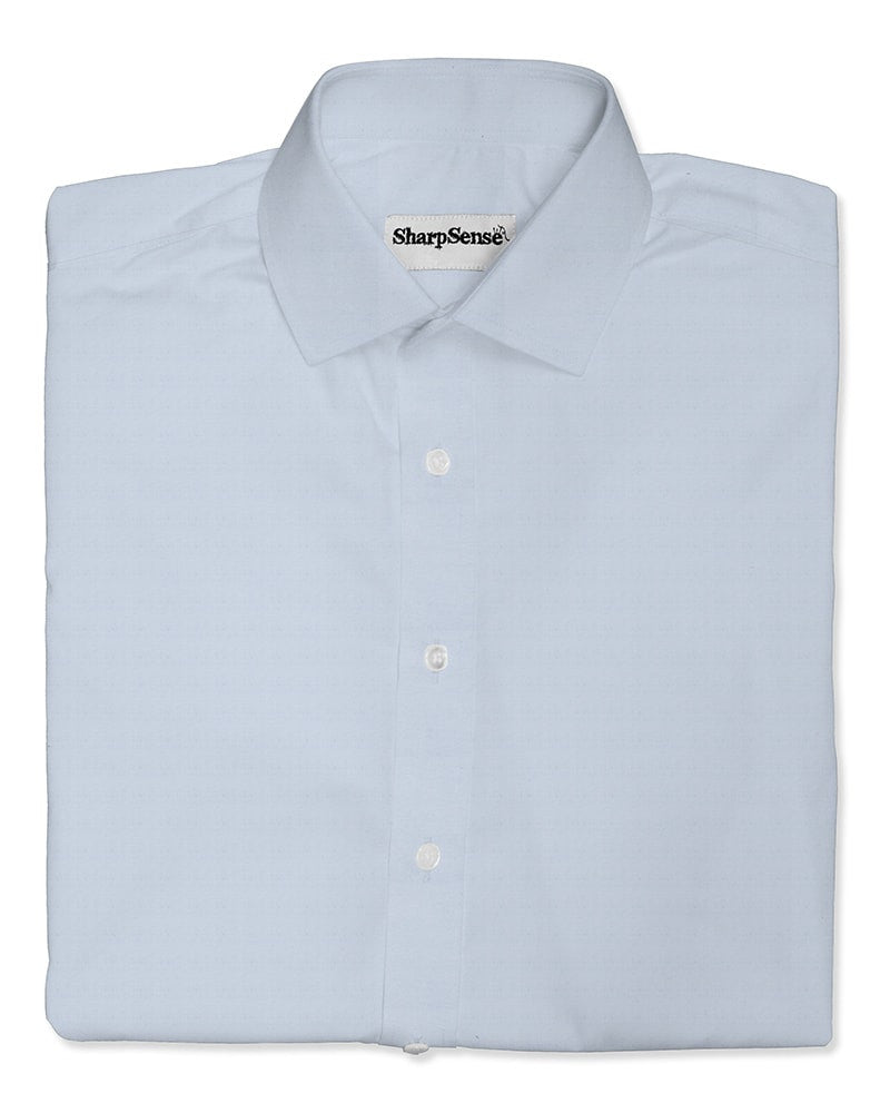 Rho white custom tailored made to measure men's shirt