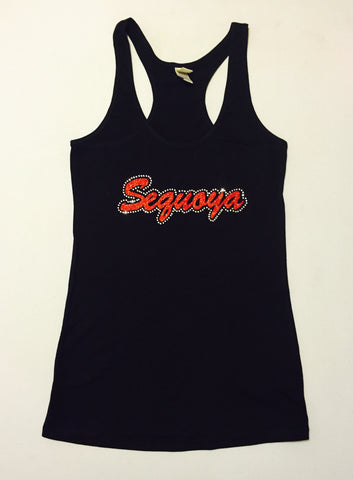 Sequoya Bling (Youth Tank Top)