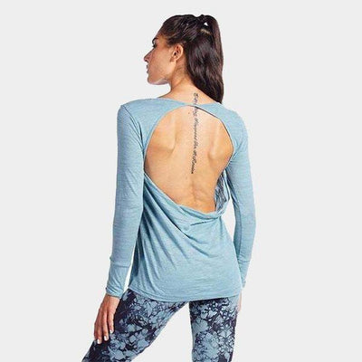Avery Long Sleeve Drape Back-long-sleeve-Indian Sage-XS-long-sleeve-Indira Active