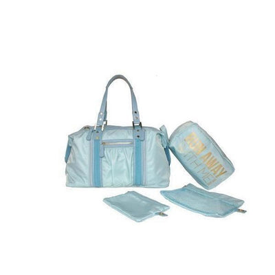 Baby Blue Yoga Tote Bag-bags-Light blue-bags-Indira Active
