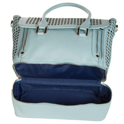 Blue Gym-To-Work Tote-bags-Light Blue-bags-Indira Active