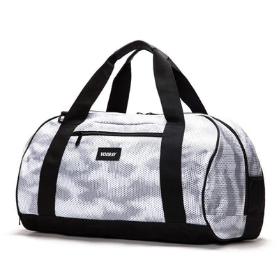 Burner Sport Duffel Large Snow Hex Camo-bags-Grey-One-size-bags-Indira Active
