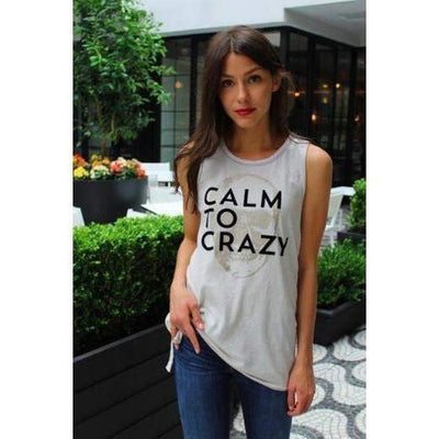 Calm To Crazy-tank-Beige-xs-tank-Indira Active