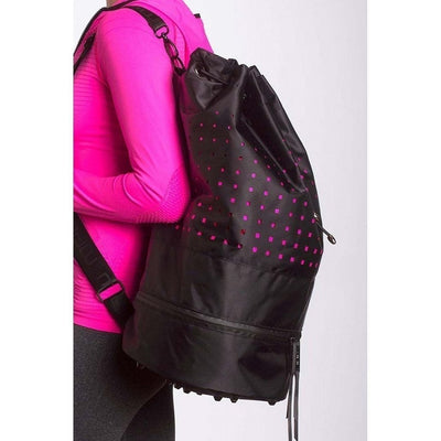 Cinch Tote Bag-bags-black-bags-Indira Active