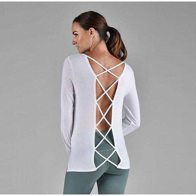 Criss Cross-long-sleeve-White-xs-long-sleeve-Indira Active