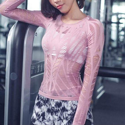 Karvi-long-sleeve-Pink-S-long-sleeve-Indira Active