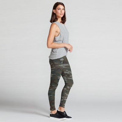 Lana High Waisted Camo Legging-leggings, printed-leggings, printed-Indira Active