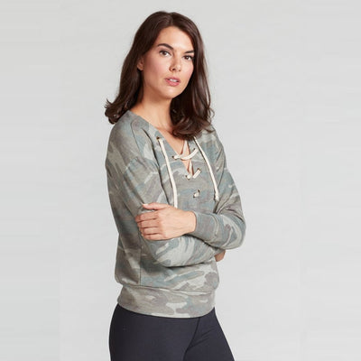 MARISSA LACE UP PULLOVER-long-sleeve-long-sleeve-Indira Active